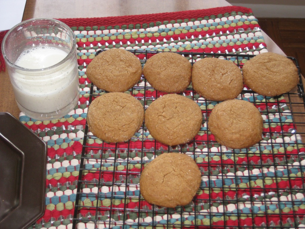 Shirley's molasses sugar cookies!